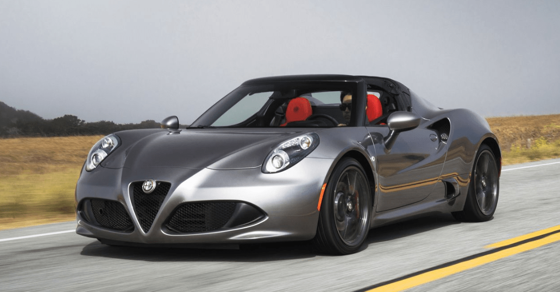 2015 Alfa Romeo 4C Spider Owners Manual