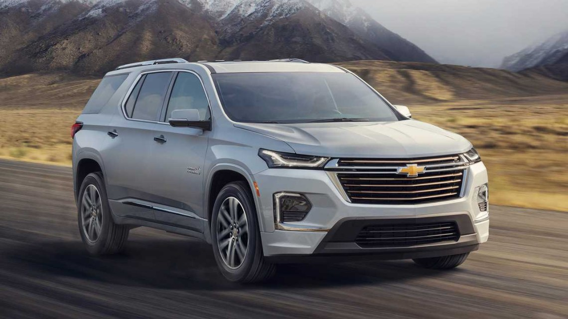2021 Chevrolet Traverse Owners Manual