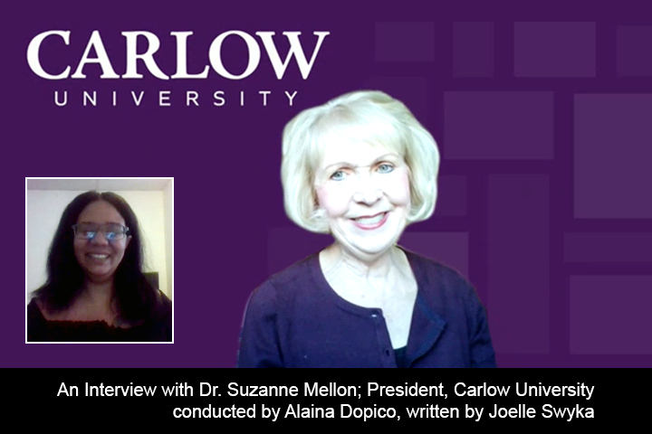 Dr Suzanne Mellon and Alaina Dopico