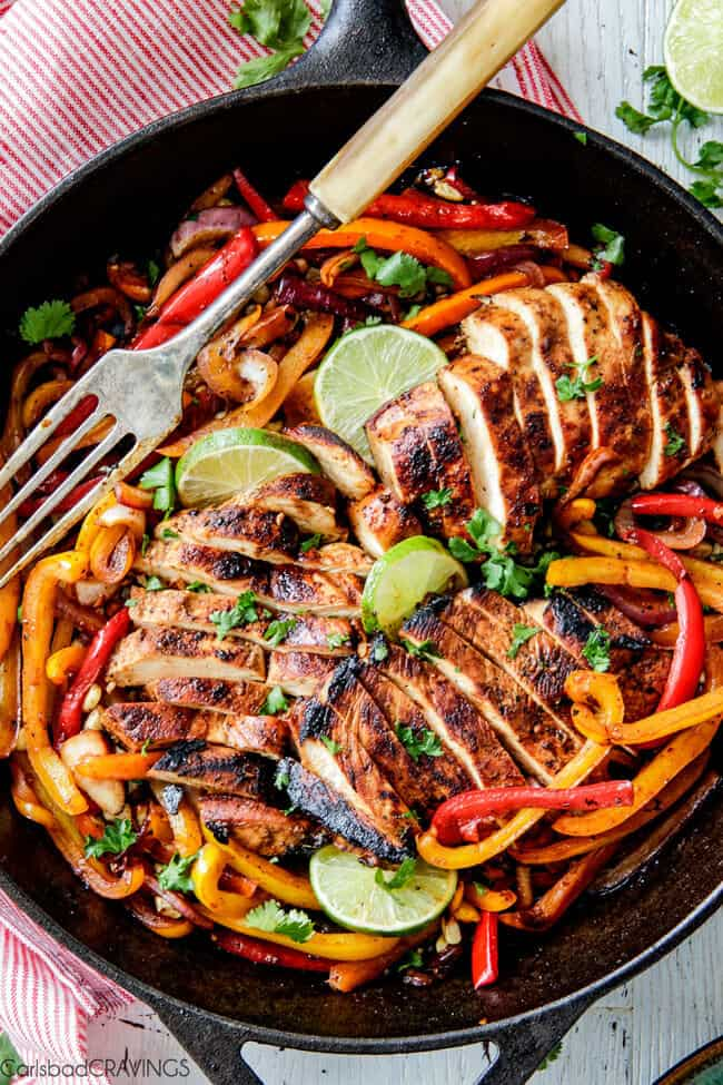 Mexican Chicken Marinade For Fajitas