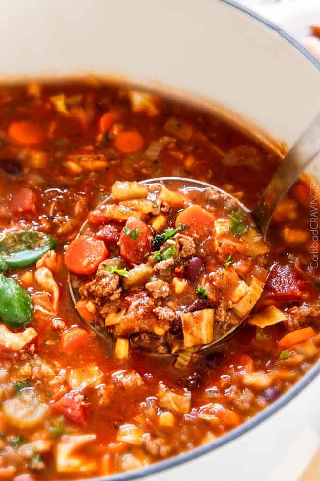 Italian Vegetable Soup Carlsbad Cravings