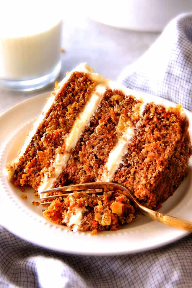 Best Ever Carrot Cake With Pineapple Cream Cheese Frosting