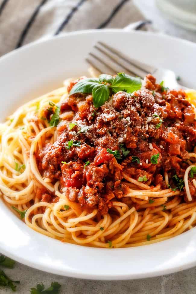 Spaghetti Bolognese (30 Minute Weeknight)