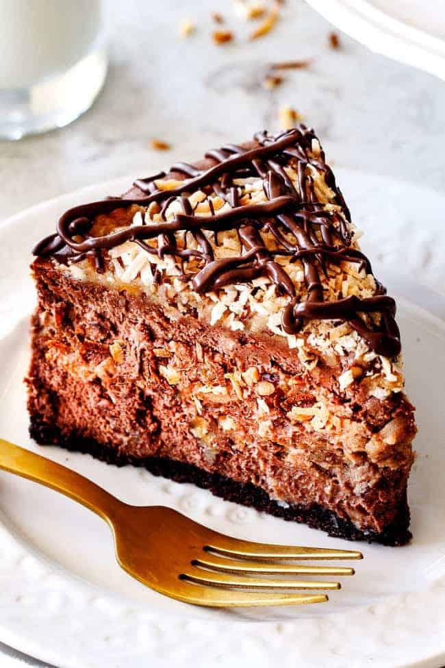 German Chocolate Cheesecake Best Chocolate Cheesecake Ever