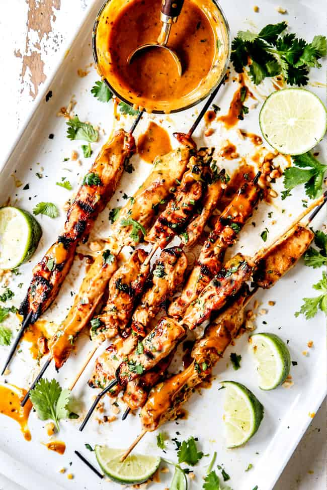 (baked or grilled or skillet!) Thai Chicken Satay with