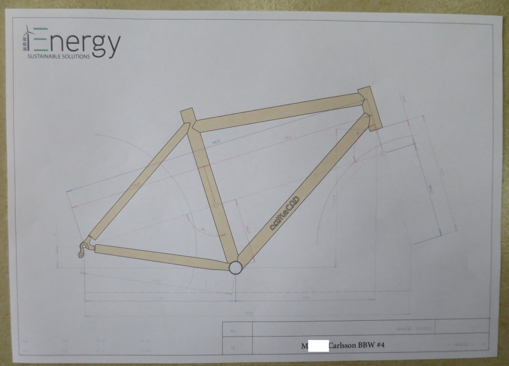 Bamboo Bicycle Build #1 (3/6)