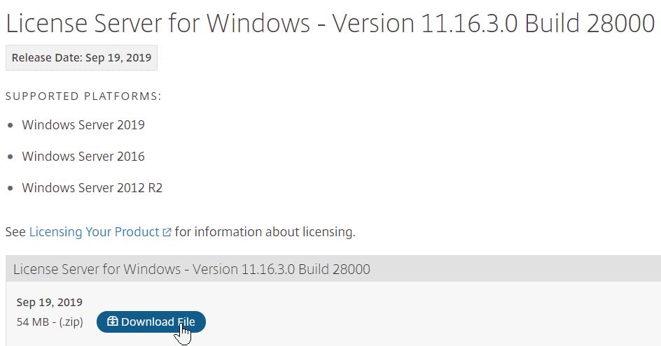 Citrix Provisioning 2006 – Server Install