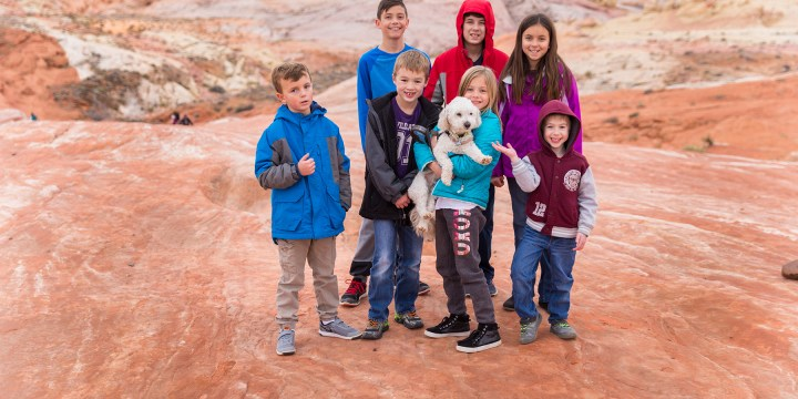 Valley of Fire State Park: Hiking Trails for Kids