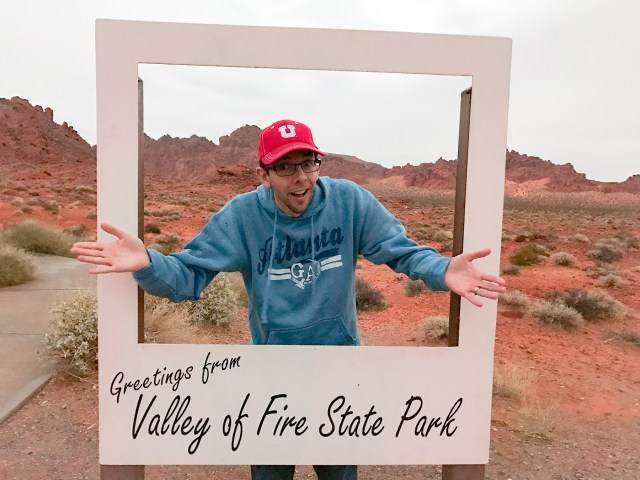 Selfie Station at Valley of Fire State Park in Nevada Carltonaut's Travel Tips