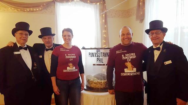 Baby announcement at Groundhog Day celebrations in Punxsutawney, Pennsylvania Carltonaut's Travel Tips