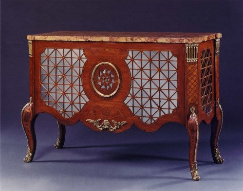 A Highly Unusual Commode Attributed To Christopher Fuhrlogh