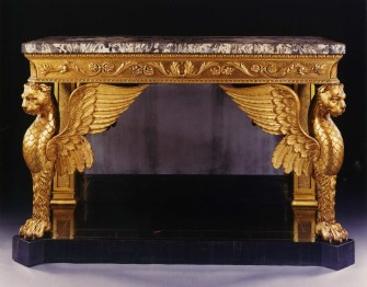 9040 Winged Console