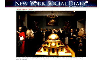 """NYSD - """"An Eye For Detail"""" Feature On The Expert Eye Event At Carlton Hobbs"""