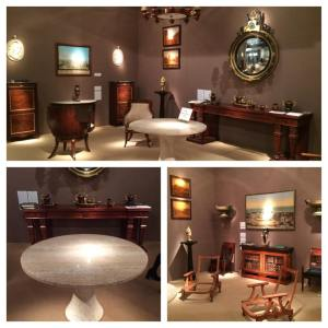 Carlton Hobbs Booth At The Winter Antiques Show 2015
