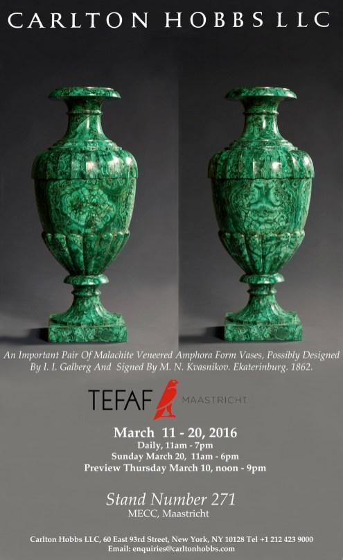 TEFAF 2016 Email 1