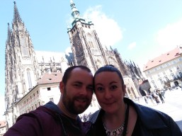Prague Cathedral Selfie