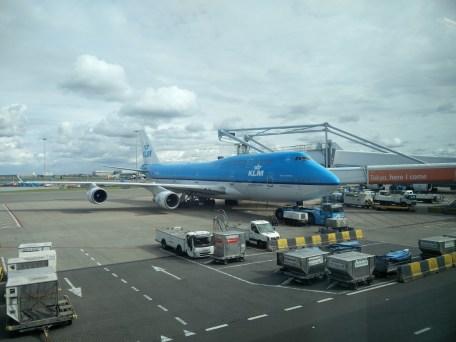Our KLM Flight
