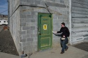 Irradiated fuel loading area, B Reactor.