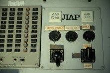 Local Automatic Regulator (LAR) on A Desk (reactor control engineer's position) in Unit 2 at Chernobyl.