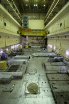 Central Hall of Unit 2, ChNPP, looking south.