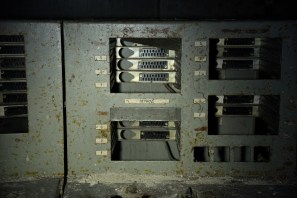 Reactor period monitors in Unit 4 control room, Chernobyl