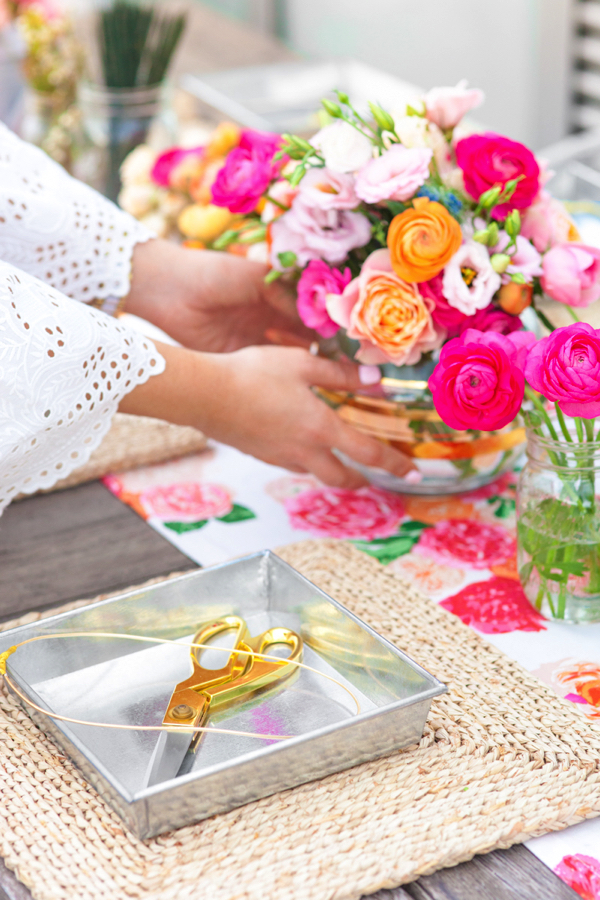 Party Goals: DIY Flower Crown Party 5