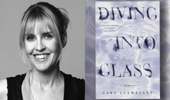 Response to Diving Into Glass by Caro Llewellyn