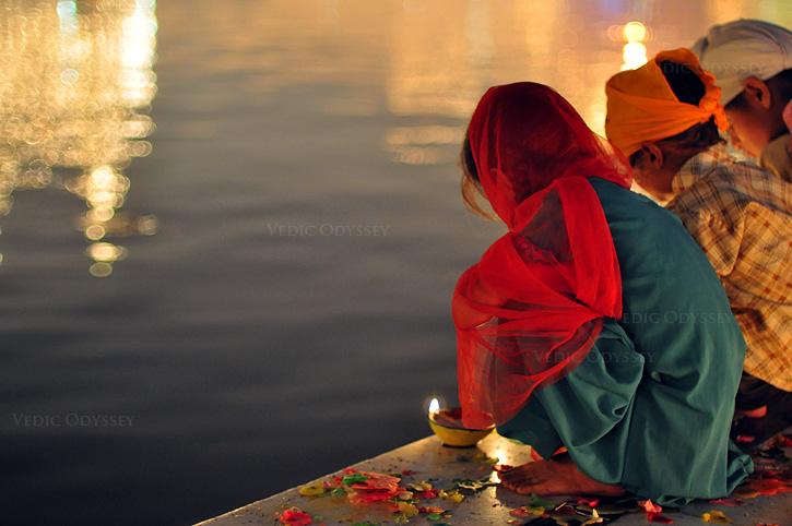 Oil pulling, coconuts & Diwali