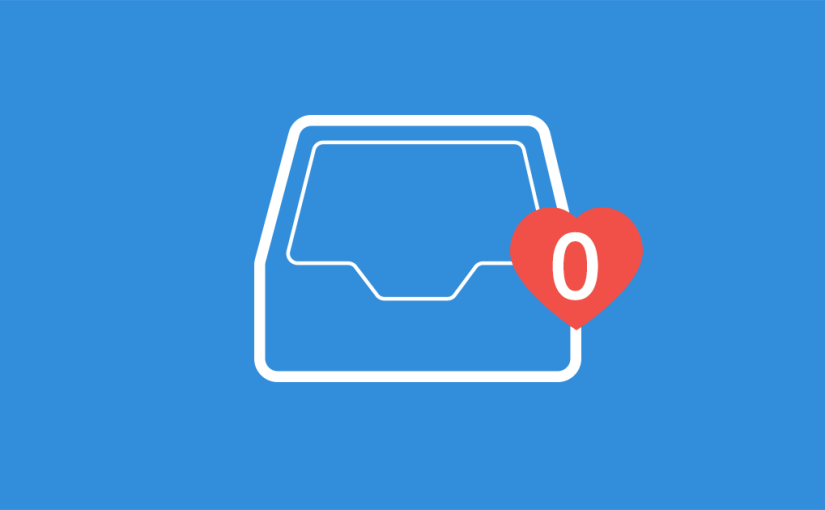 Inbox zero/email bankruptcy