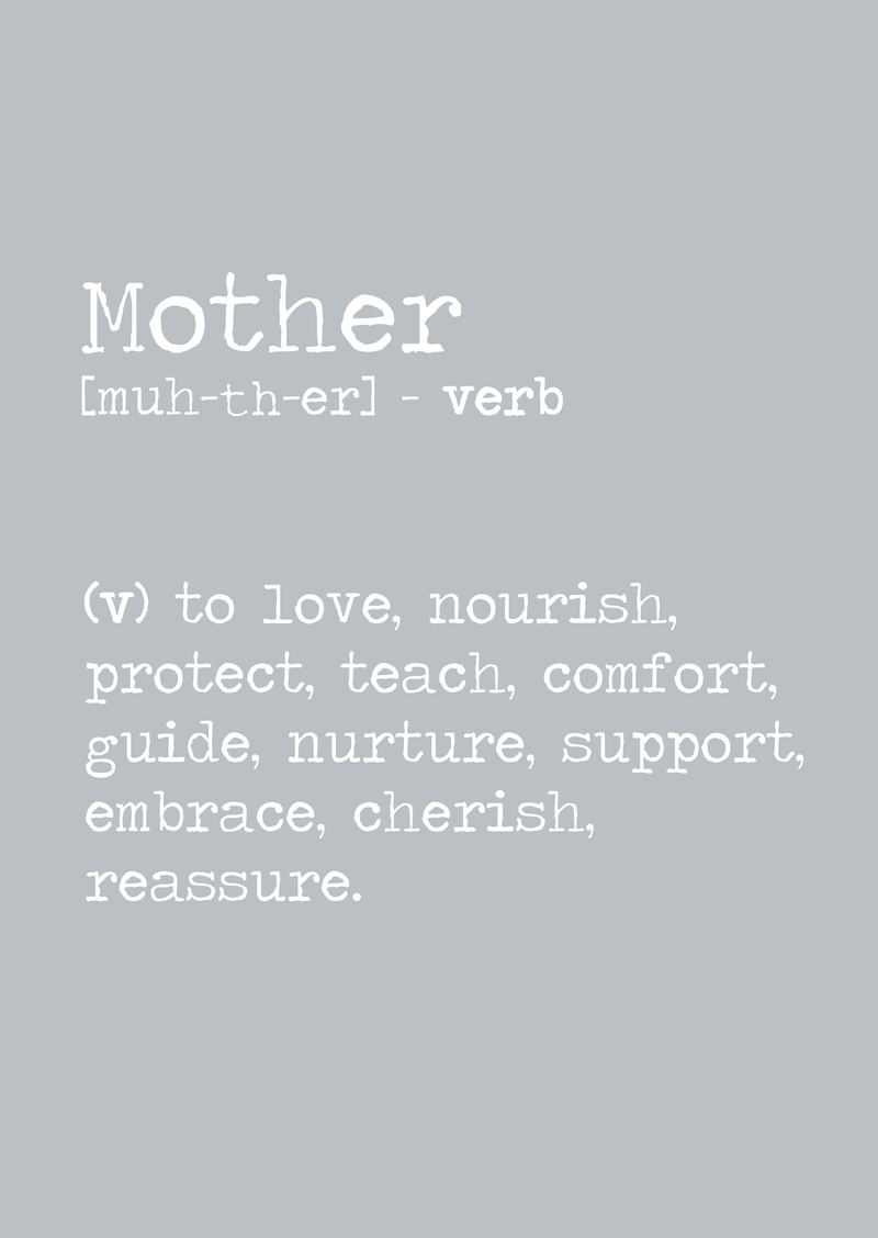 We are all mothers