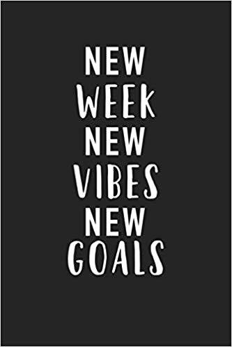 Resolutions for a new week