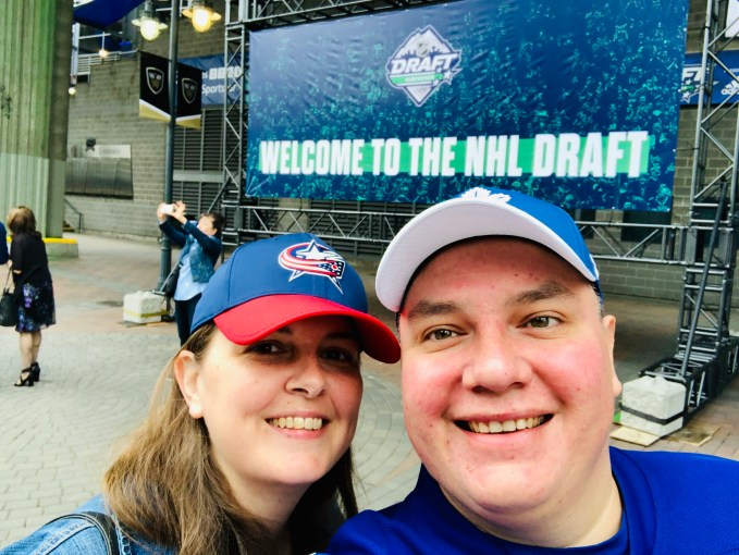 NHL Draft in Vancouver