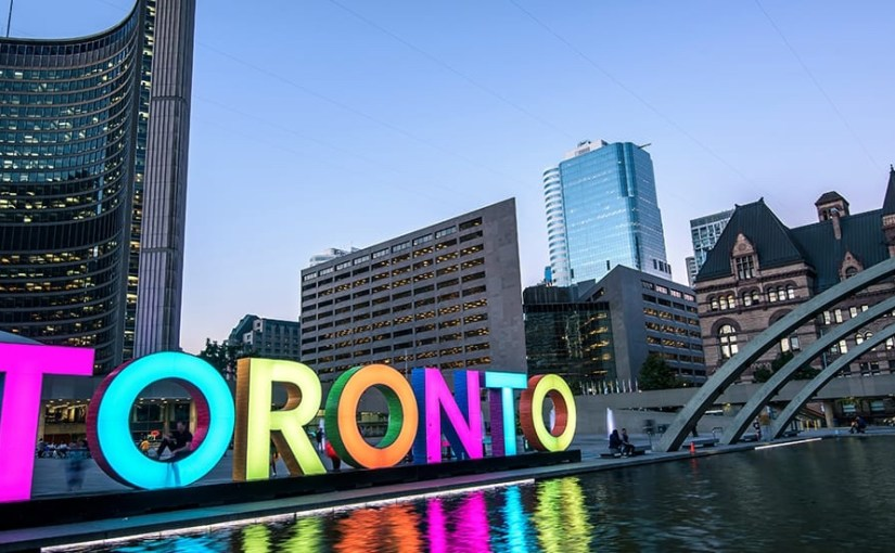 Countdown to Toronto is ON