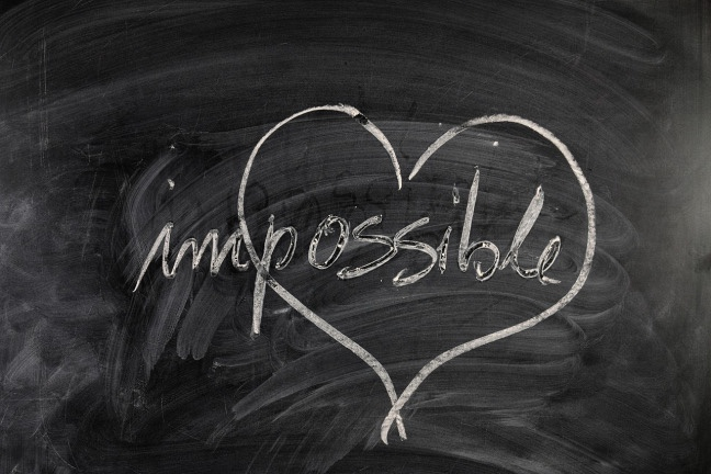 My favourite love stories are the impossible ones