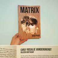 """""""Golden Birthday"""" in Matrix's Mad Pride Issue"""
