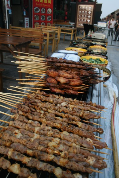 Barbecue in Pingyao
