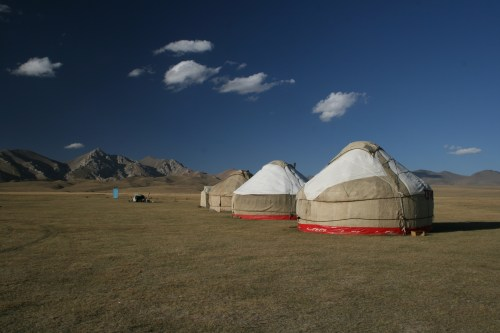 Staying in a yurt by the shores of Song Kul is a must while in Kyrgyzstan