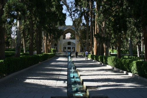 The Unesco listed Bagh-e Fin, a wonderful example of Persian gardens
