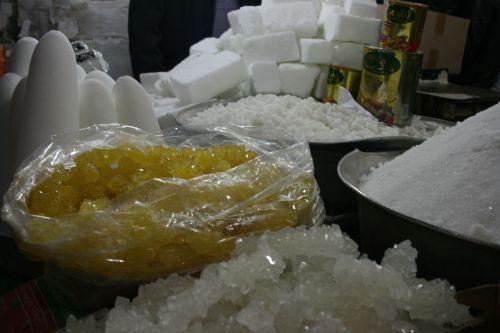 All kinds of sugar, Tabriz Bazaar