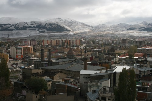 Erzurum in early November