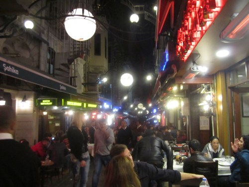 Nightlife in Beyoglu
