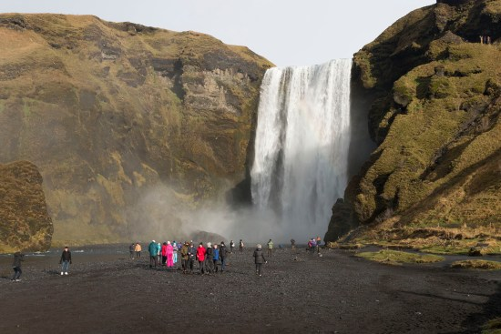 Skogafoss is very popular, so don't expect to have it to yourself!!