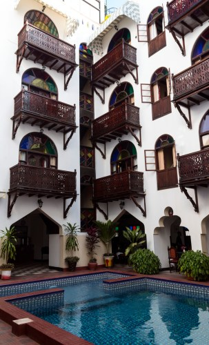 Dhow Palace Hotel, Stone Town