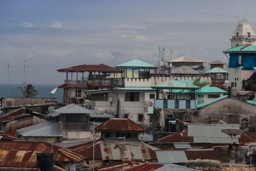 Stone Town's rooftops