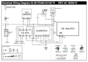 2008 Toyota IQ  VSS1 Electrical Wiring Diagram LHD  PDF Manual (1 Page)