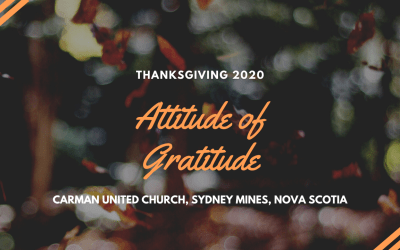 Worship Service for October 11, 2020