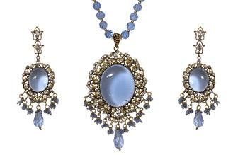 Bold Indigo Blue Jewelry Set
