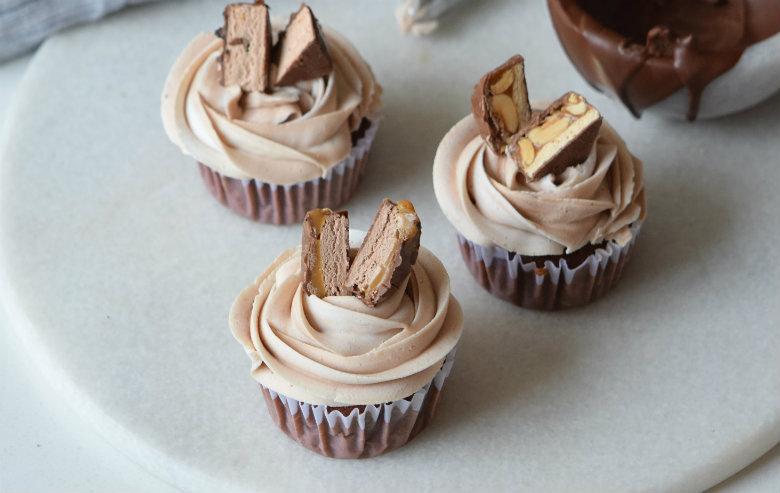 Milky Way Cupcakes Recipe