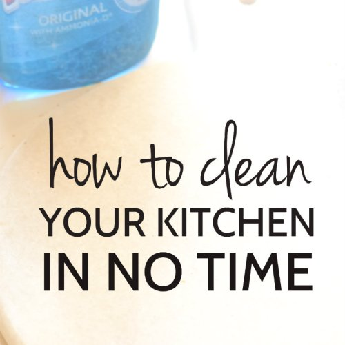 Clean your Kitchen in No Time with these awesome tips! Click Now for all the hacks | carmelapop.com