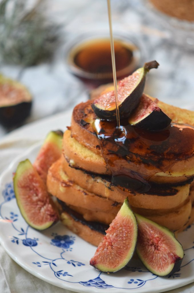 <Rose Infused French Toasts